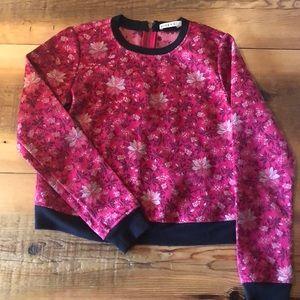 Alice & Olivia floral Sweatshirt